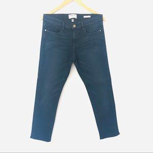 Frame Denim Le Garcon Dark Wash Skinny Jeans Sz27